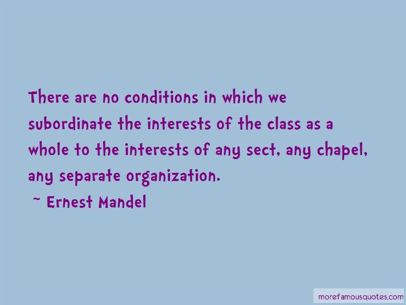 Ernest Mandel Quotes Pictures 3