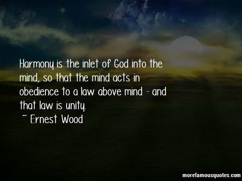 Ernest Wood Quotes Pictures 2