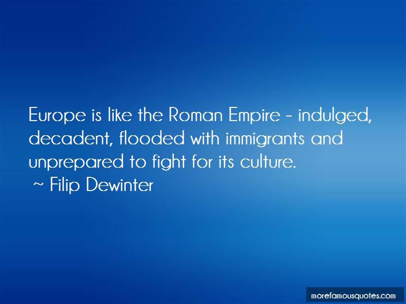 Filip Dewinter Quotes