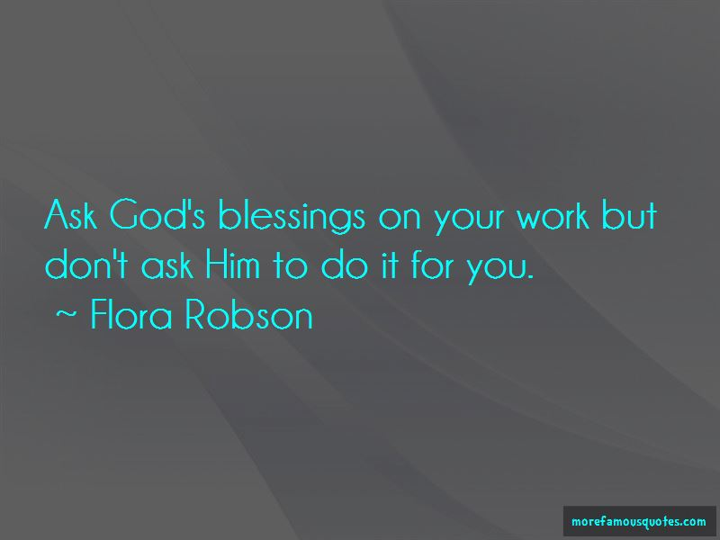 Flora Robson Quotes