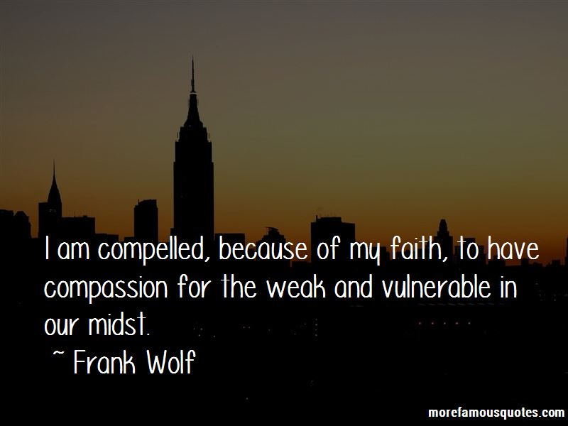Frank Wolf Quotes Pictures 2