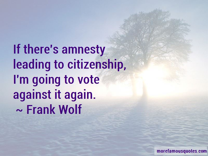 Frank Wolf Quotes Pictures 4