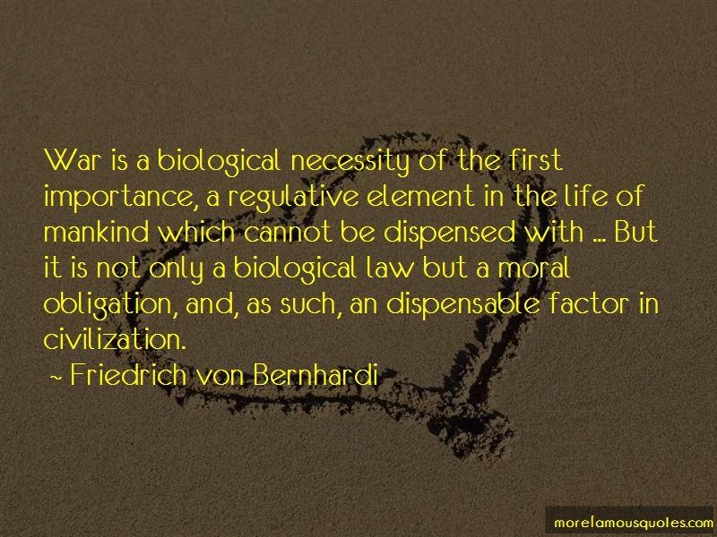 Friedrich Von Bernhardi Quotes
