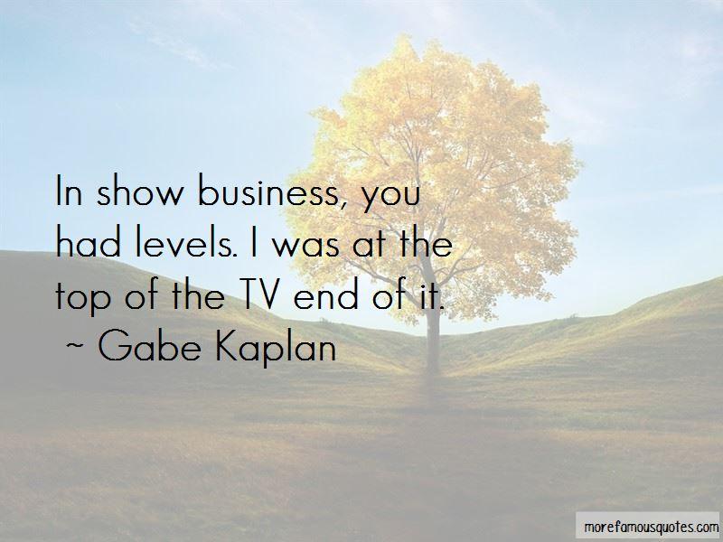Gabe Kaplan Quotes Pictures 2