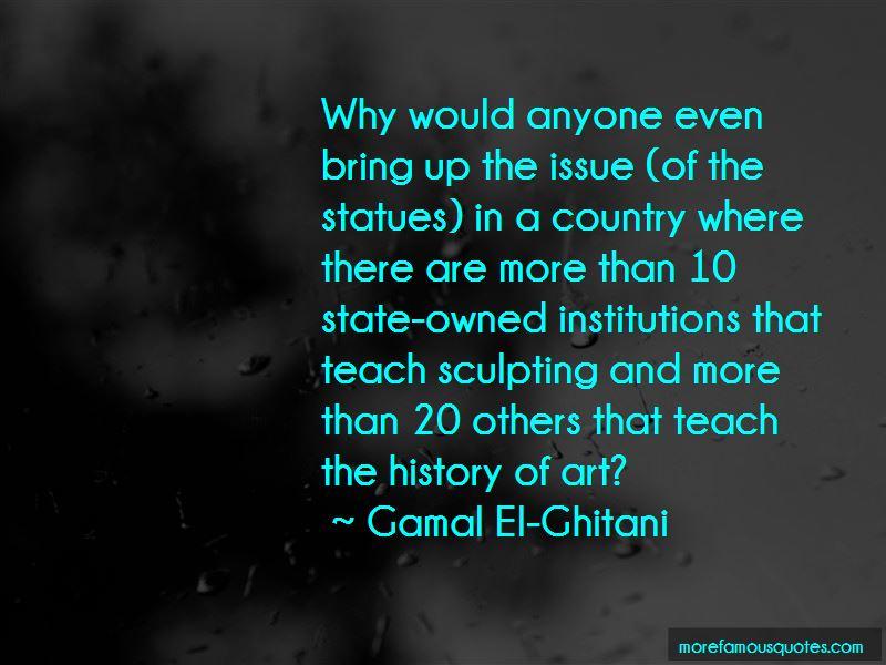 Gamal El-Ghitani Quotes