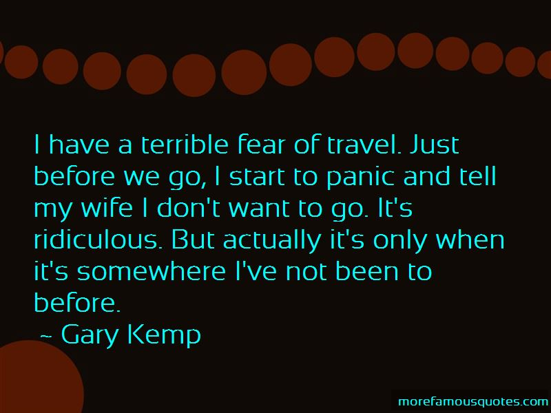 Gary Kemp Quotes Pictures 4