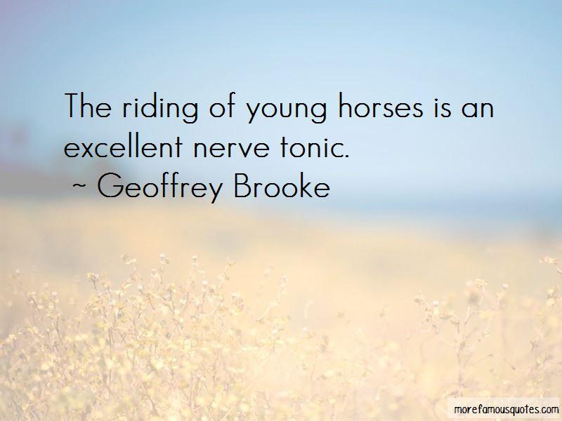 Geoffrey Brooke Quotes