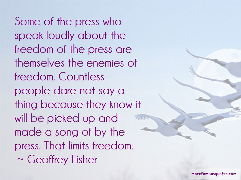 Geoffrey Fisher Quotes Pictures 2