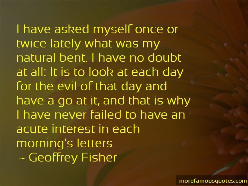 Geoffrey Fisher Quotes Pictures 4