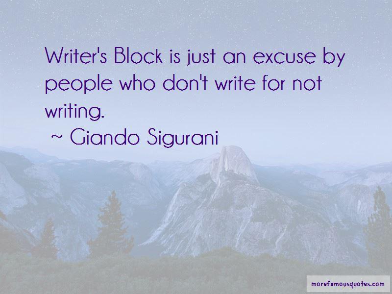 Giando Sigurani Quotes