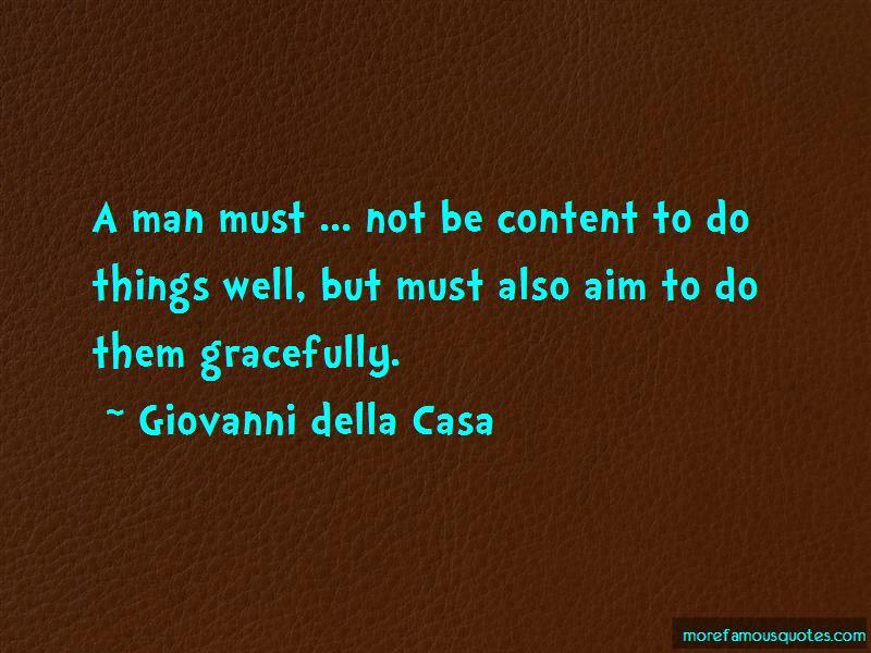 Giovanni Della Casa Quotes