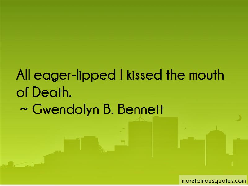 Gwendolyn B. Bennett Quotes Pictures 3