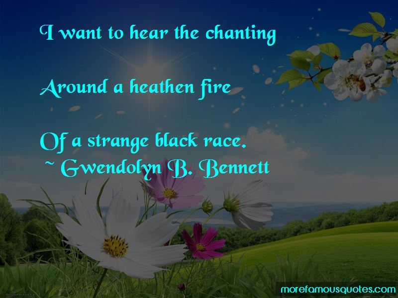 Gwendolyn B. Bennett Quotes Pictures 4