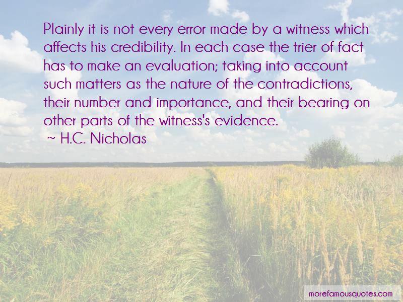 H.C. Nicholas Quotes