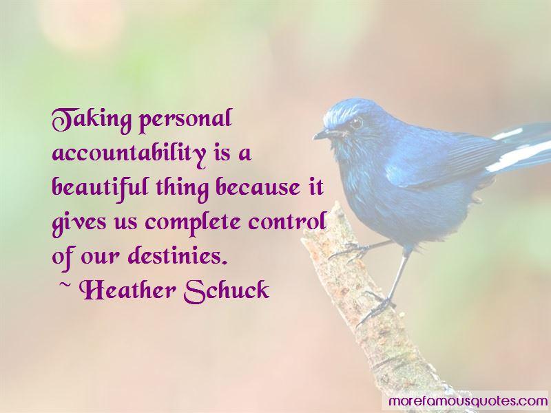 Heather Schuck Quotes