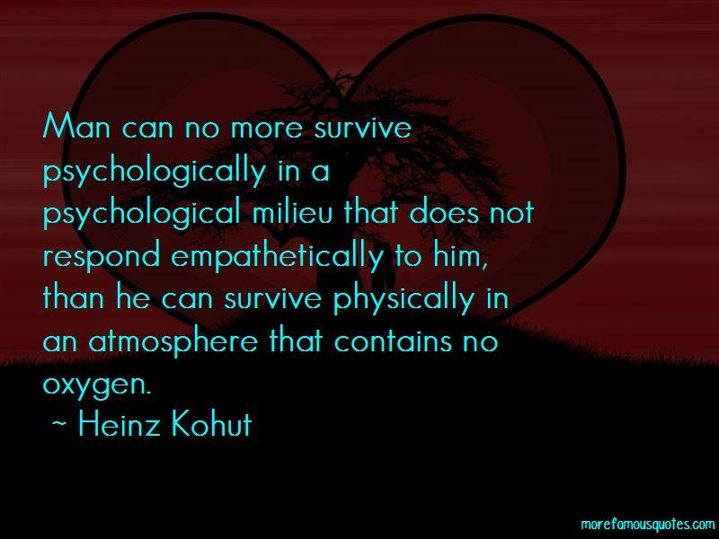 Heinz Kohut Quotes