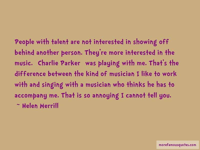 Helen Merrill Quotes Pictures 2