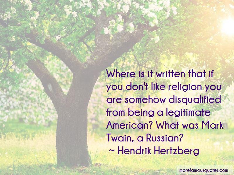 Hendrik Hertzberg Quotes Pictures 4