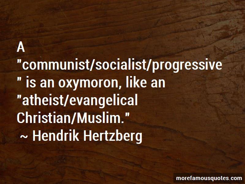 Hendrik Hertzberg Quotes