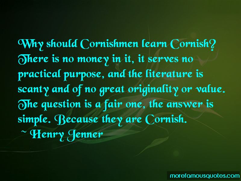 Henry Jenner Quotes