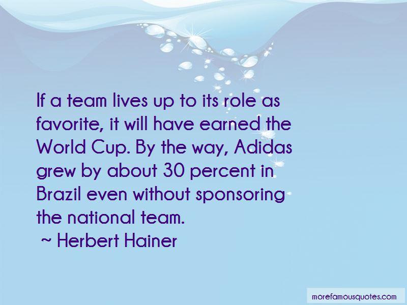 Herbert Hainer Quotes Pictures 3