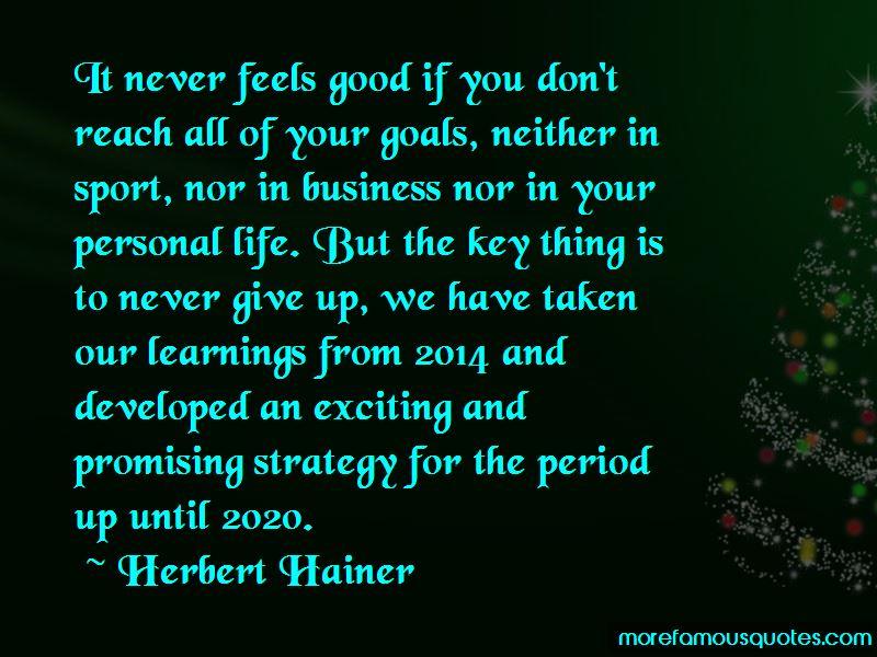Herbert Hainer Quotes Pictures 4
