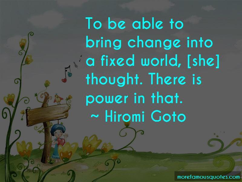 Hiromi Goto Quotes Pictures 4