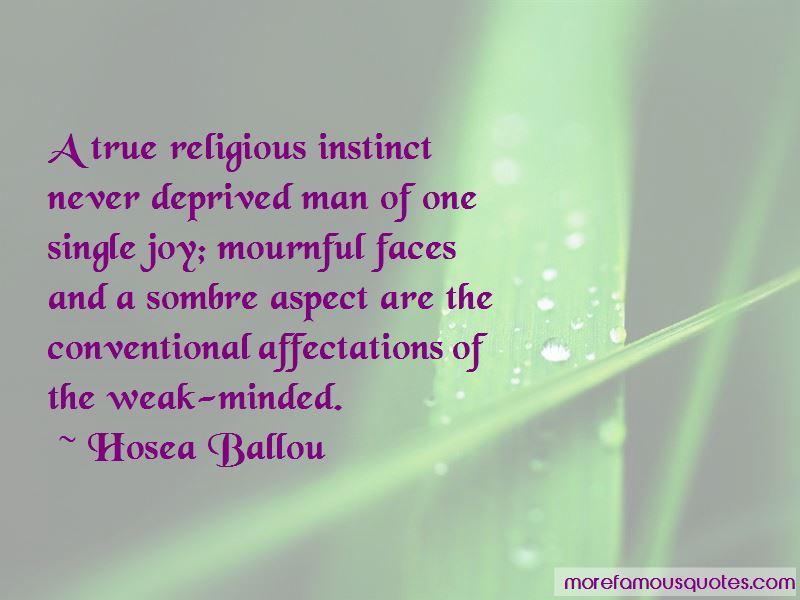 Hosea Ballou Quotes Pictures 2
