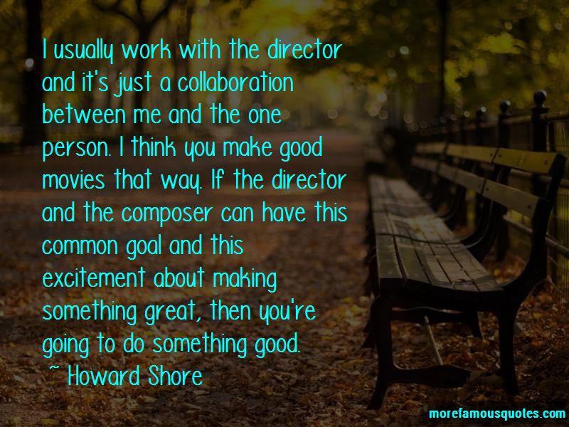 Howard Shore Quotes