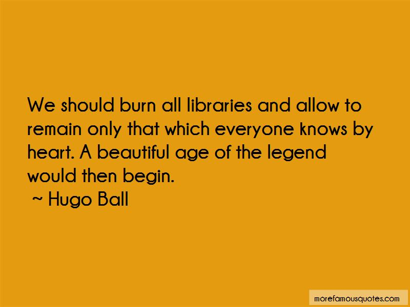 Hugo Ball Quotes Pictures 3
