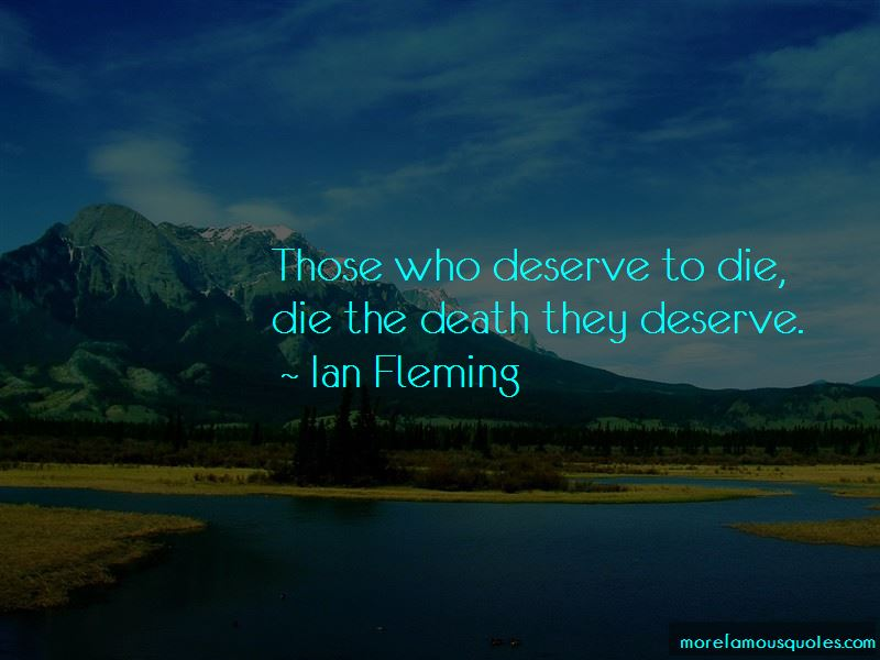 Ian Fleming Quotes Pictures 2