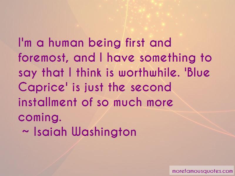 Isaiah Washington Quotes Pictures 2