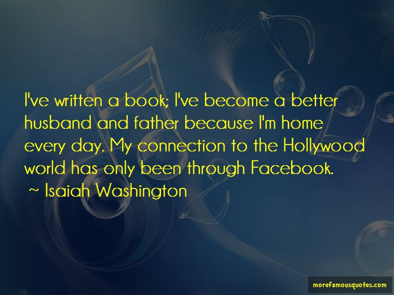 Isaiah Washington Quotes Pictures 3
