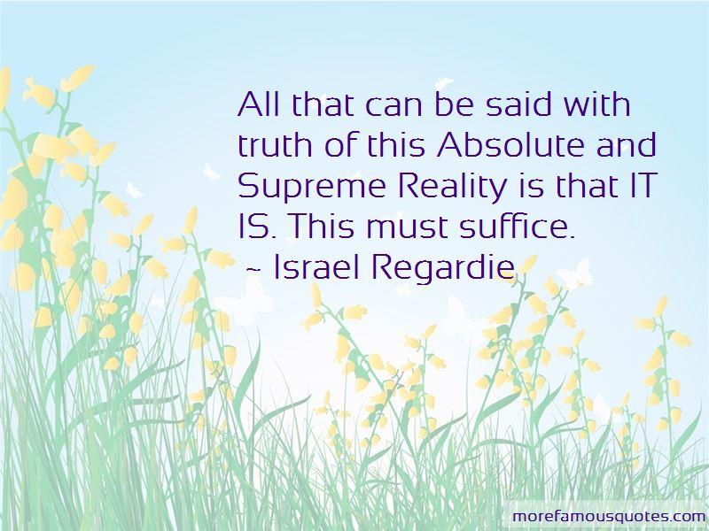 Israel Regardie Quotes