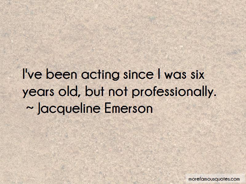 Jacqueline Emerson Quotes Pictures 2