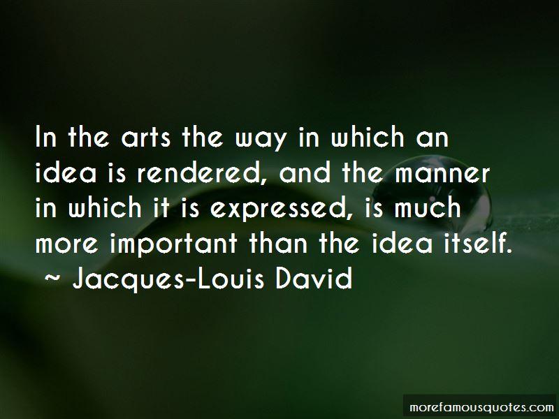 Jacques-Louis David Quotes