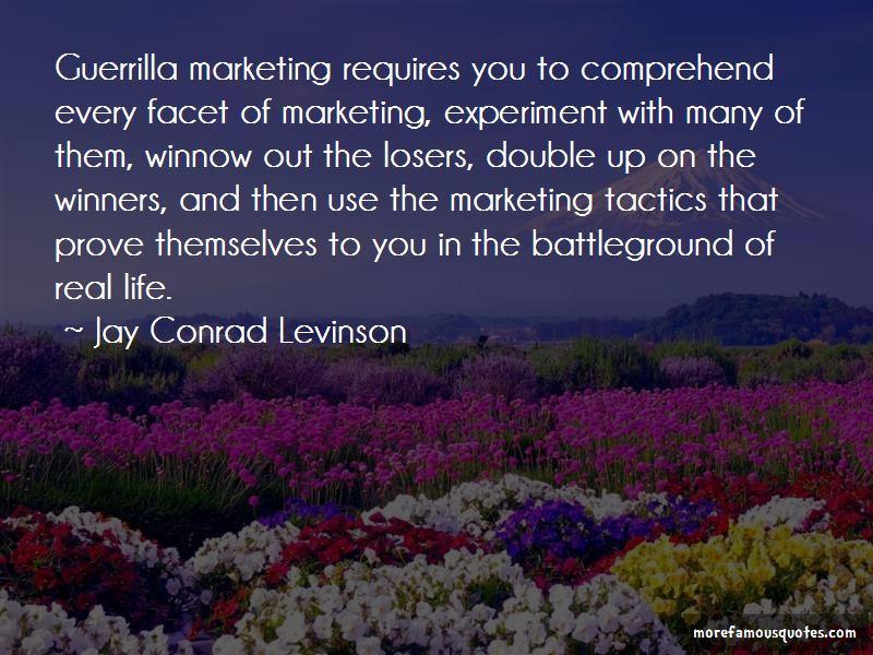 Jay Conrad Levinson Quotes