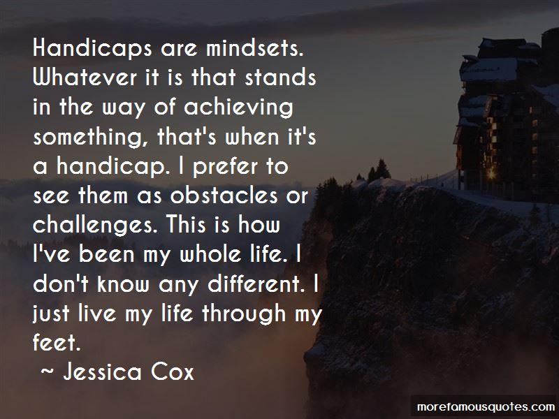 Jessica Cox Quotes