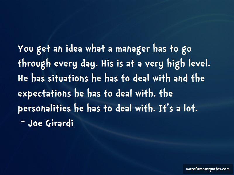 Joe Girardi Quotes Pictures 3