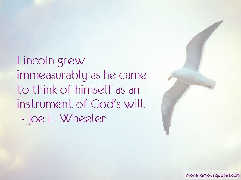 Joe L. Wheeler Quotes Pictures 2