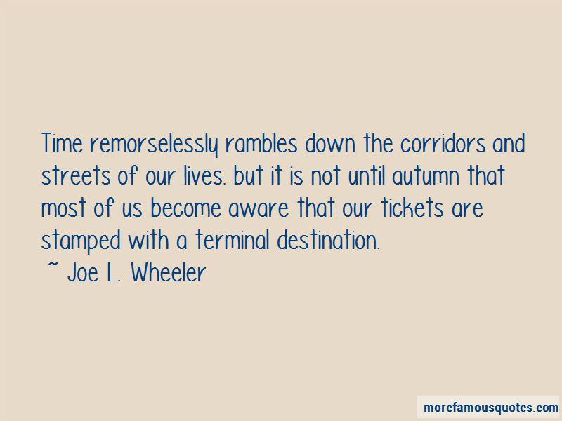 Joe L. Wheeler Quotes Pictures 3