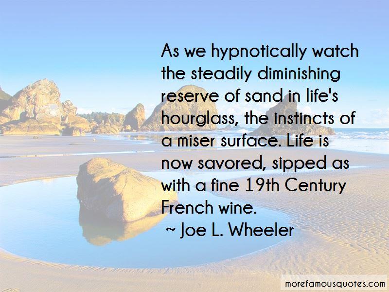 Joe L. Wheeler Quotes