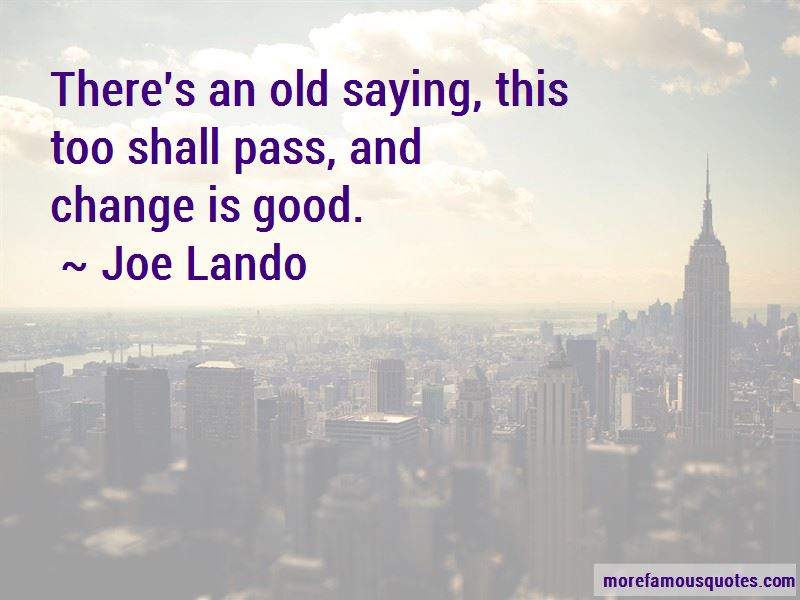 Joe Lando Quotes Pictures 3