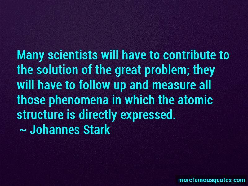 Johannes Stark Quotes Pictures 2