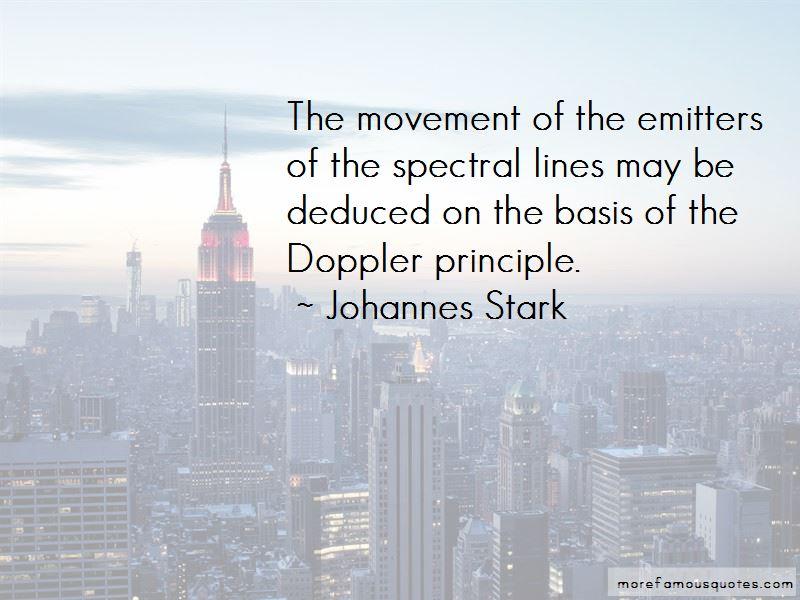 Johannes Stark Quotes