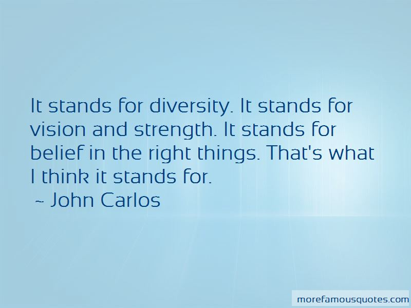 John Carlos Quotes Pictures 2