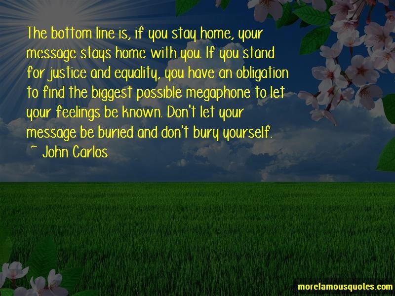 John Carlos Quotes