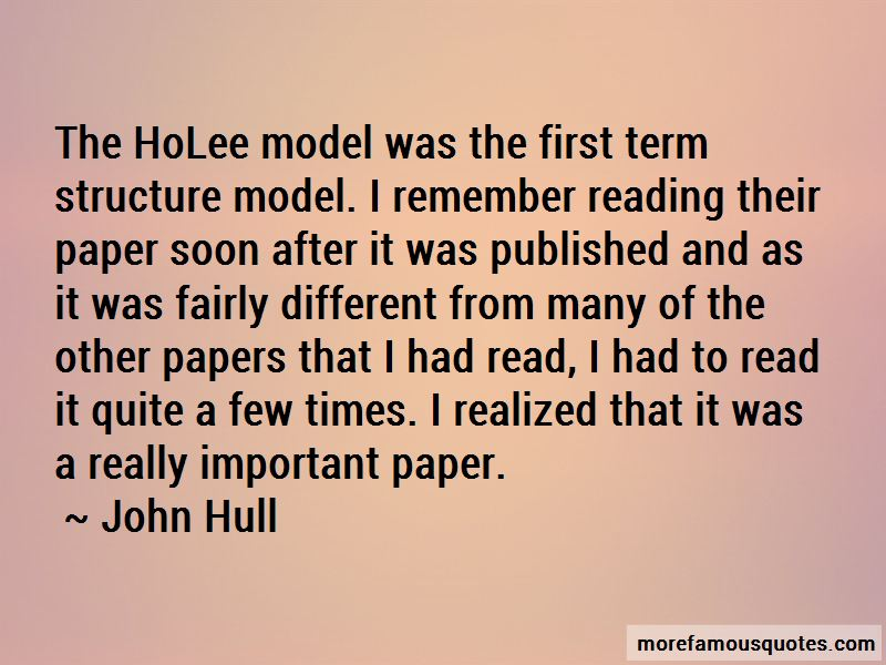 John Hull Quotes Pictures 3