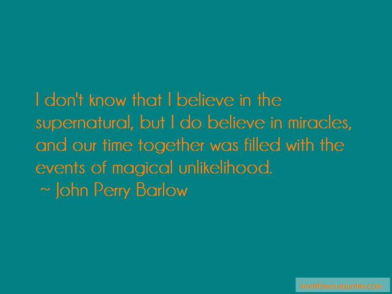 John Perry Barlow Quotes Pictures 2