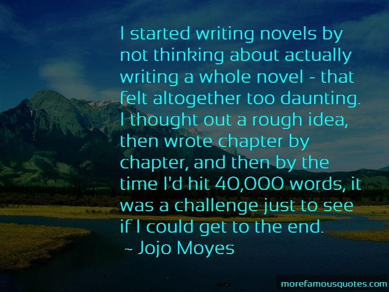Jojo Moyes Quotes